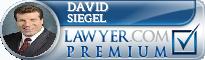 David Siegel  Lawyer Badge