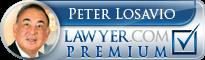 Peter J Losavio  Lawyer Badge
