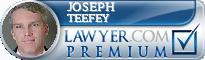 Joseph Michael Teefey  Lawyer Badge