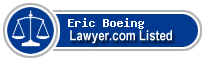 Eric Boeing Lawyer Badge