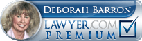 Deborah Barron  Lawyer Badge