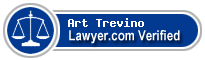 Art Trevino  Lawyer Badge