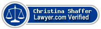 Christina Shaffer  Lawyer Badge