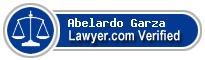 Abelardo Garza  Lawyer Badge