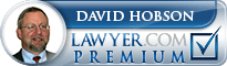 David N. Hobson, Jr.  Lawyer Badge