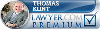 Thomas A. Klint  Lawyer Badge