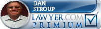 Dan M Stroup  Lawyer Badge