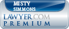 Misty Simmons  Lawyer Badge