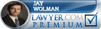 Jay Marshall Wolman  Lawyer Badge