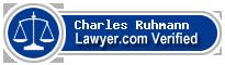 Charles Julius Ruhmann  Lawyer Badge