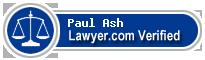 Paul G. Ash  Lawyer Badge