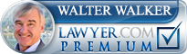 Walter H. Walker  Lawyer Badge