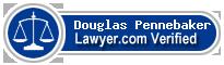Douglas E. Pennebaker  Lawyer Badge