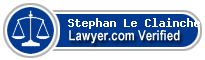 Stephan Alain Le Clainche  Lawyer Badge