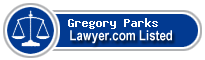 Gregory Parks Lawyer Badge