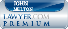 John E. Melton  Lawyer Badge