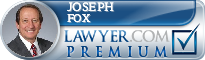 Joseph L. Fox  Lawyer Badge