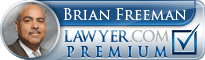Brian C. Freeman  Lawyer Badge