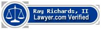 Ray E. Richards, II  Lawyer Badge