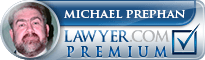 Michael Prephan Jr.  Lawyer Badge