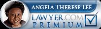 Angela Therese Lee  Lawyer Badge