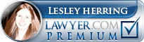 Lesley Herring  Lawyer Badge