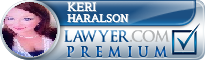 Keri Temple Haralson  Lawyer Badge
