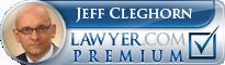 Jeff Cleghorn  Lawyer Badge
