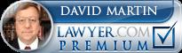David L. Martin  Lawyer Badge