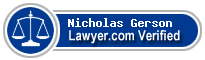 Nicholas I. Gerson  Lawyer Badge