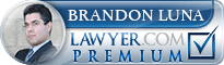 Brandon U. Luna  Lawyer Badge