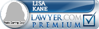 Lisa Kane  Lawyer Badge