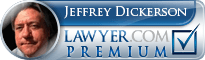 Jeffrey A. Dickerson  Lawyer Badge