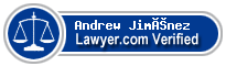 Andrew Jiménez  Lawyer Badge