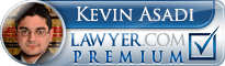 Kevin I. Asadi  Lawyer Badge
