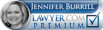 Jennifer Burrill  Lawyer Badge