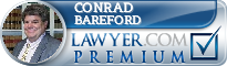 Conrad Bareford  Lawyer Badge