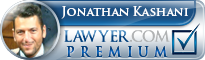 Jonathan Kashani  Lawyer Badge