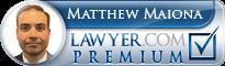 Matthew J. Maiona  Lawyer Badge