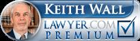 Keith Wall  Lawyer Badge