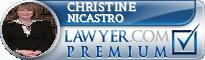 Christine Nicastro  Lawyer Badge