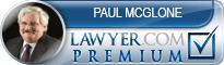 Paul Liam McGlone  Lawyer Badge