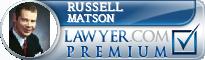 Russell Matson  Lawyer Badge