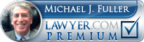 Michael J. Fuller  Lawyer Badge