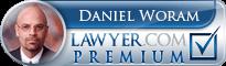 Daniel Woram  Lawyer Badge