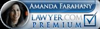 Amanda Farahany  Lawyer Badge