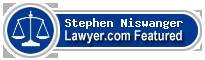 Stephen B. Niswanger  Lawyer Badge