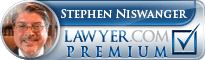 Stephen B. Niswanger  Lawyer Badge