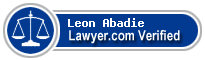 Leon Ware Abadie  Lawyer Badge