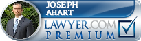 Joseph Michael Ahart  Lawyer Badge